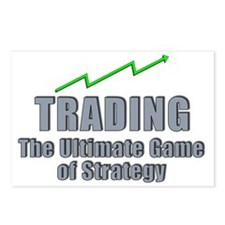 Trading the ultimate game Postcards (Package of 8)