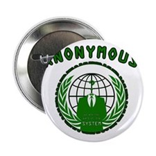 "Anonymous 99% Occupy t-shirt 2.25"" Button"