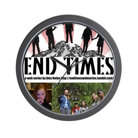 End Times Archivist Wall Clock