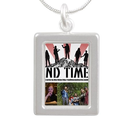 End Times Archivist Silver Portrait Necklace