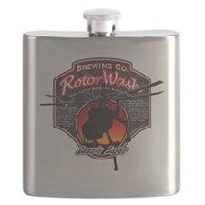 RotorWash Brewing Co. - Leann Lager Skycrane Flask