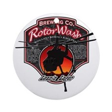 RotorWash Brewing Co. - Leann Lager Round Ornament
