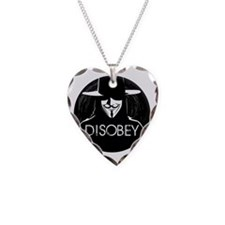 Anonymous 99% Occupy t-shirt Necklace