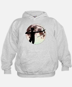 Artemis the bow hunter Hoodie