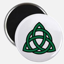 "Green Celtic knot 2.25"" Magnet (10 pack)"