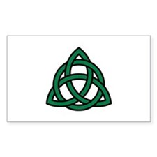 Green Celtic knot Decal