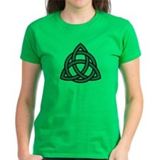 Green Celtic knot Tee