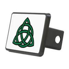 Green Celtic knot Rectangular Hitch Cover