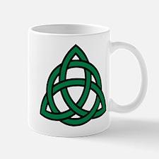 Green Celtic knot Mug