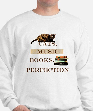 Cats, books and music Jumper