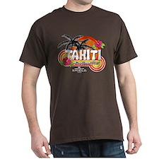 Greetings From Tahiti Dark T-Shirt