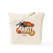 Greetings From Tahiti Tote Bag