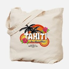Greetings From Tahiti Tote Bag