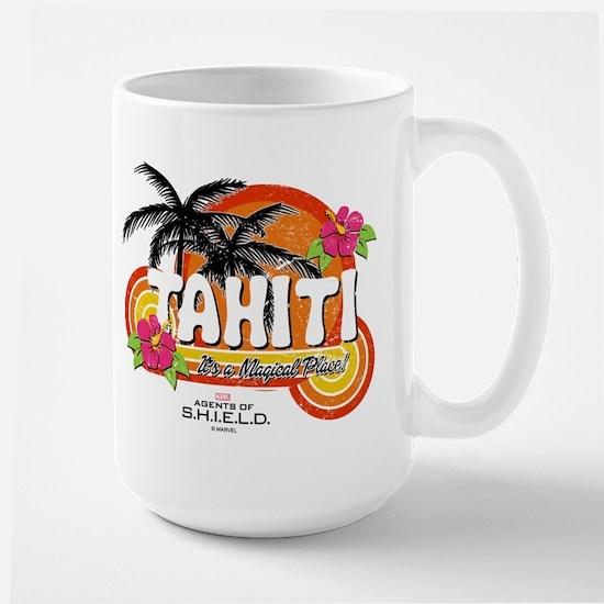Greetings From Tahiti Large Mug