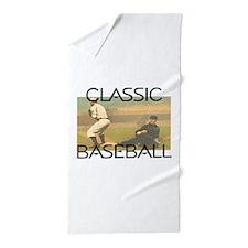 TOP Classic Baseball Beach Towel