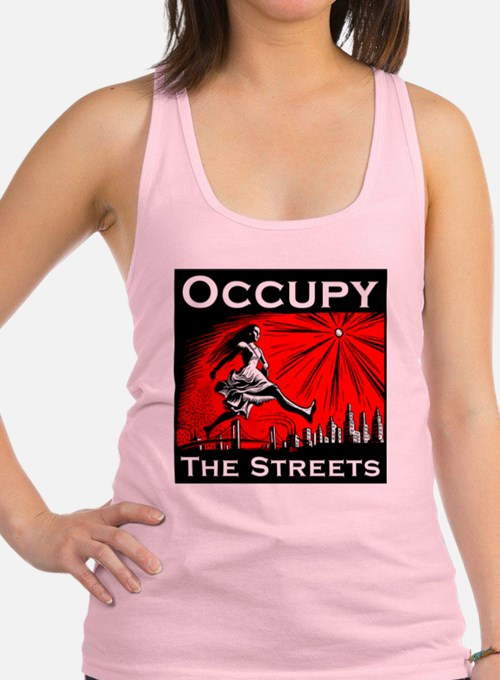 Anonymous 99% Occupy t-shirt Racerback Tank Top
