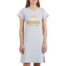 Quinoa Pronunciation Women's Nightshirt