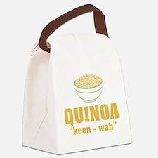 Quinoa Pronunciation Canvas Lunch Bag