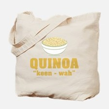 Quinoa Pronunciation Tote Bag