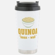 Quinoa Pronunciation Travel Mug