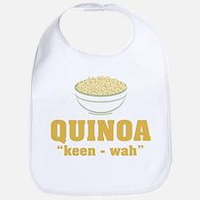 Quinoa Pronunciation Bib