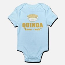 Quinoa Pronunciation Body Suit