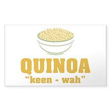 Quinoa Pronunciation Decal