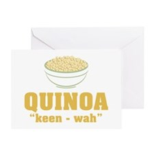 Quinoa Pronunciation Greeting Cards