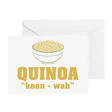 Quinoa Pronunciation Greeting Cards