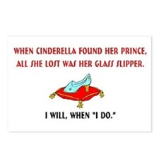 I WILL when I DO Postcards (Package of 8)