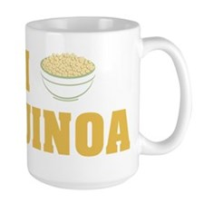 I Love Quinoa Mugs