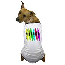 kayak shower curtain Dog T-Shirt