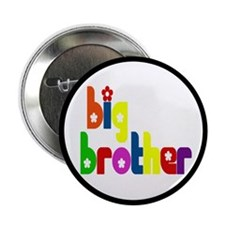 """Big Brother (Welcoming the New Baby) 2.25"""" Button"""