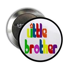 """Little Brother (Gift for the New Baby) 2.25"""" Butto"""