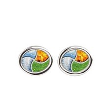 Four Elements Ying Yang Cufflinks