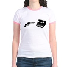 """""""Writer's Block"""" Ringer T-shirt"""