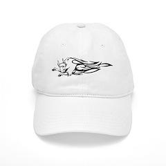 Flaming Bull Tattoo Baseball Cap