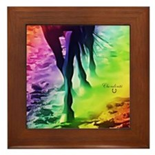 Equine Theme Custom Framed Tile #7144
