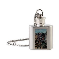 060 (2) Flask Necklace