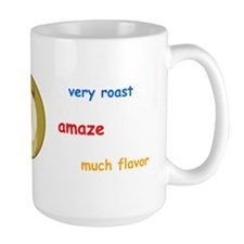 Dogecoin Mug Large - Wow. Amaze. Very Roast.