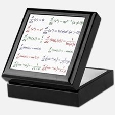 Derivatives of Functions Keepsake Box