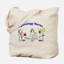 Oncology Nurse Making a Difference Tote Bag