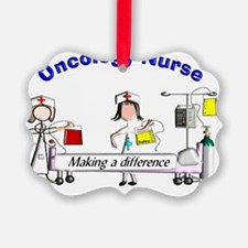 Oncology Nurse Making a Differenc Ornament