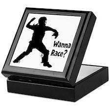 black Wanna Race on black Keepsake Box