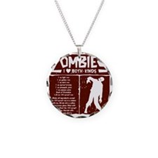 I Heart Zombies Necklace