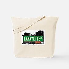 Lafayette Av, Bronx, NYC Tote Bag