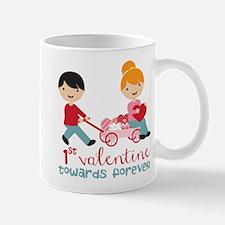 1st Valentines Day Together Mug