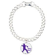 purple Wanna Race Bracelet