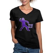 purple Wanna Race Shirt