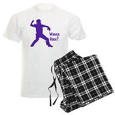 purple Wanna Race Pajamas